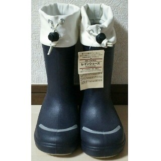 ムジルシリョウヒン(MUJI (無印良品))の新品 無印良品 キッズ18〜19センチ 長靴(長靴/レインシューズ)