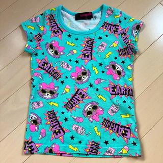 アースマジック(EARTHMAGIC)のアースマジック  総柄Tシャツ(Tシャツ/カットソー)