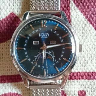 セイコー(SEIKO)のヘンリーロンドン ムーンフェイス腕時計(腕時計(アナログ))