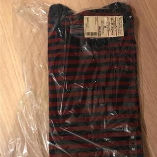 ムジルシリョウヒン(MUJI (無印良品))の無印良品 ボーダーTシャツ 新品 メンズ M(Tシャツ/カットソー(半袖/袖なし))