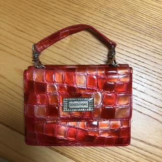 コッコフィオーレ COCCO FIORE ストラップ付きミニ財布(財布)