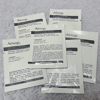 イソップ(Aesop)のイソップ  サンプル 化粧水 保湿クリーム ボディクリーム(サンプル/トライアルキット)