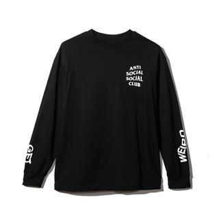 ステューシー(STUSSY)のGET WEIRD BLACK LONG SLEEVE SHIRT (Tシャツ/カットソー(七分/長袖))