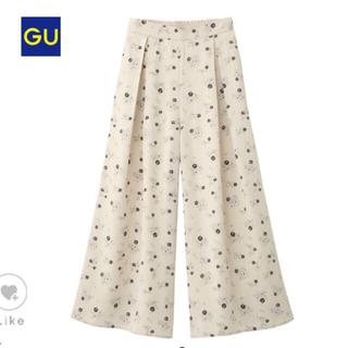 ジーユー(GU)のワイドパンツ GU(カジュアルパンツ)