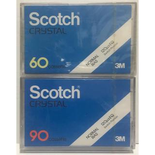 Scotch Crystal 60分 90分 ノーマルポジション カセットテープ(その他)