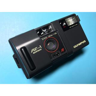 オリンパス(OLYMPUS)のかわいい 手のひらサイズ コンパクトフィルムカメラ OLYMPUS AF-1(フィルムカメラ)