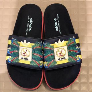 アディダス(adidas)のアディダス adidas mary katrantzou 限定厚底サンダル(サンダル)