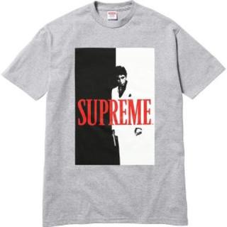 シュプリーム(Supreme)のL 新品 希少 Supreme Scarface Spirit Tee グレー(Tシャツ/カットソー(半袖/袖なし))
