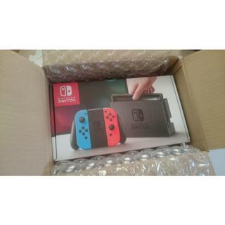 任天堂スイッチ Nintendo Switch 本体 ネオン 新品未開封 保証付(家庭用ゲーム本体)