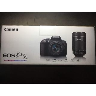 キヤノン(Canon)の【豪華セット】Canon EOS kiss X9i ダブルズームキット 美品★(デジタル一眼)