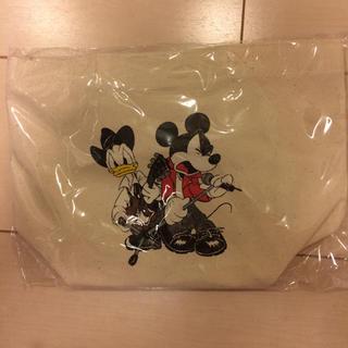 Disney - B'z×ミッキー コラボ ランチトート 白 ナチュラル