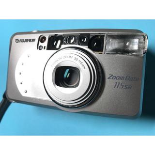 フジフイルム(富士フイルム)の実用! 多機能 フィルムコンパクトカメラ FUJIFILM ZOOM DATE(フィルムカメラ)