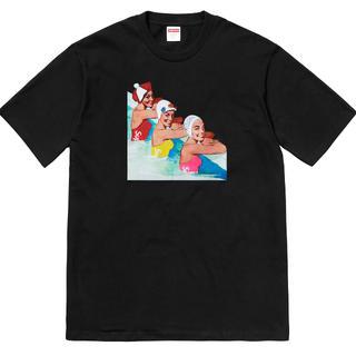 シュプリーム(Supreme)の希少 XLサイズ supreme swimmers tee(Tシャツ/カットソー(半袖/袖なし))