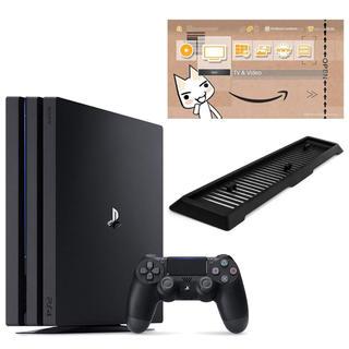 プレイステーション4(PlayStation4)の PlayStation 4 Pro ジェット・ブラック1TB Amazon限定(家庭用ゲーム本体)