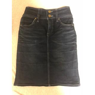 オゾック(OZOC)のハイウエストタイトスカート(ひざ丈スカート)