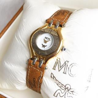 エムシーエム(MCM)の極美品☆ 電池交換込み MCM スイス製 腕時計(腕時計)