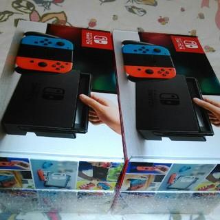 ニンテンドースイッチ(Nintendo Switch)のNintendo Switch 任天堂 スイッチ 本体 ネオン 新品 4台セット(家庭用ゲーム本体)