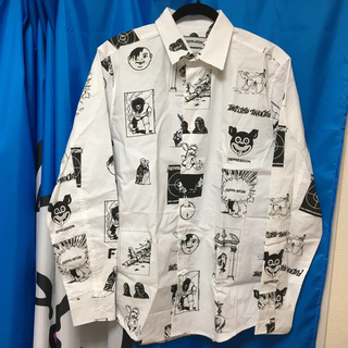 シュプリーム(Supreme)のfucking awesome cut out dress shirt L(シャツ)