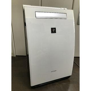 シャープ 加湿空気清浄機 プラズマクラスター25000 ホワイト KI-FX75(その他)