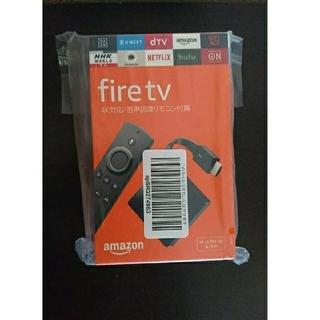 新品 Fire TV - 4K・HDR 対応、音声認識リモコン付属(その他)
