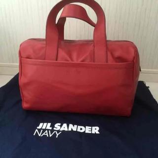 ジルサンダー(Jil Sander)のJILSANDER NAVY ジルサンダーネイビー バック(トートバッグ)