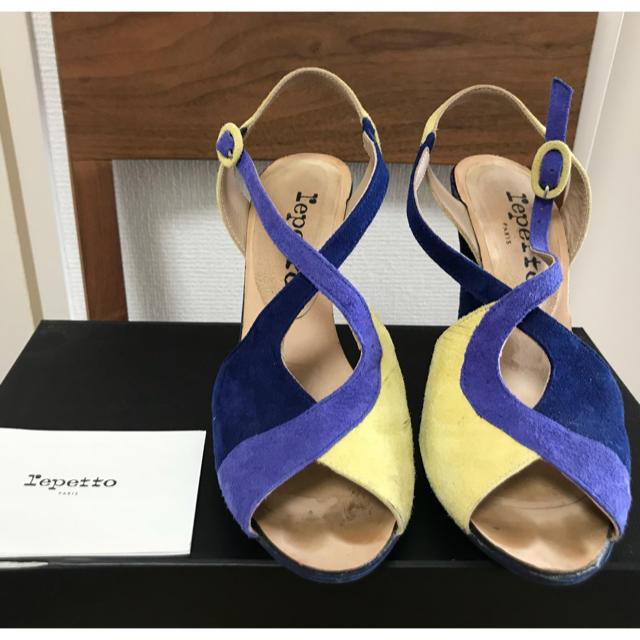 repetto(レペット)の値下げ 美品!レペットサンダル レディースの靴/シューズ(サンダル)の商品写真