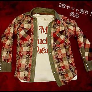 アユイテ(AYUITE)のアユイテ  チェックシャツ   M Tシャツセット売り   TAKUYA∞着用(シャツ)