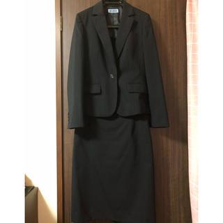 アオヤマ(青山)の洋服の青山 スカートスーツ ストライプ(スーツ)