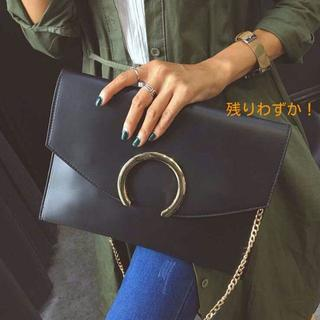 高品質クラッチバッグ 2wayレディース【ブラック】(セカンドバッグ/クラッチバッグ)