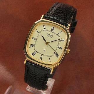 セイコー(SEIKO)のセイコー シャリオ クオーツ ローマンインデックス 6431-5080(腕時計(デジタル))