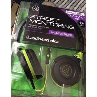 オーディオテクニカ(audio-technica)のポータブルヘッドホン スマートフォン対応(ヘッドフォン/イヤフォン)