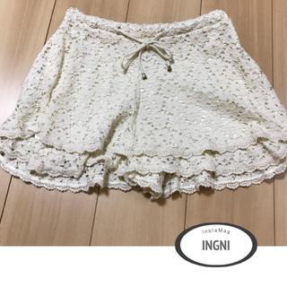 イング(INGNI)のINGNI 総レース ショーパン♡(ショートパンツ)