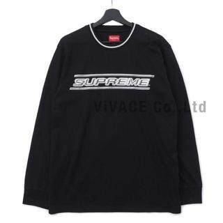 シュプリーム(Supreme)のSupreme Bevel L/S Top 黒L(Tシャツ/カットソー(七分/長袖))