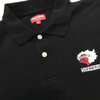 シュプリーム(Supreme)のSupreme Gonz Ramm Polo 黒M(Tシャツ/カットソー(半袖/袖なし))
