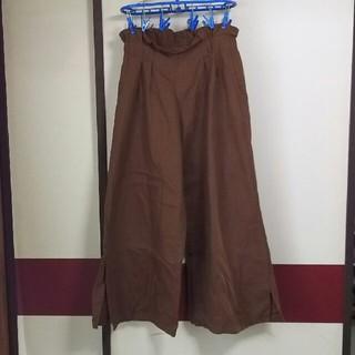 シマムラ(しまむら)のワイドパンツ 茶色 しまむら(カジュアルパンツ)
