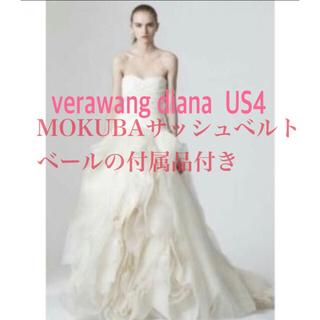 ヴェラウォン(Vera Wang)の【最終値下げ】verawang Diana US4♦︎梨花着用(ウェディングドレス)
