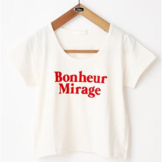 フーズフーチコ(who's who Chico)のチビロゴプリントT(Tシャツ(半袖/袖なし))