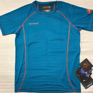 アークテリクス(ARC'TERYX)の2XL/MAMMUT/メンズTシャツ/ブルー(Tシャツ/カットソー(半袖/袖なし))