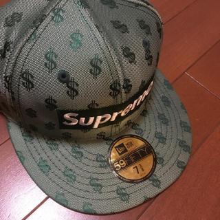 シュプリーム(Supreme)のsupreme  box logo new era ニューエラー (キャップ)