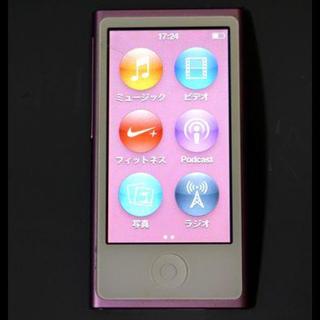 アップル(Apple)のipod nano 第7世代 【1日限定出品】(ポータブルプレーヤー)