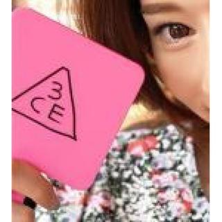*新品ハンドミラー ミラー 鏡 3ce  ピンク 可愛い(その他)