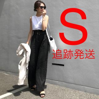 ザラ(ZARA)の新品♡ZARA ベルト付き リネンパンツ(カジュアルパンツ)