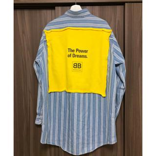 バレンシアガ(Balenciaga)のBALENCIAGA バレンシアガ ストライプシャツ vetements(シャツ)