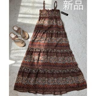 シマムラ(しまむら)のマキシ丈ワンピース (ロングワンピース/マキシワンピース)