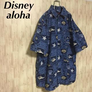 ディズニー(Disney)の美品 Disney aloha 海外古着 Made in macau(シャツ)