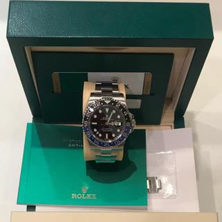 ロレックス(ROLEX)のロレックス 青黒 GMTマスター 国内正規品(腕時計(アナログ))