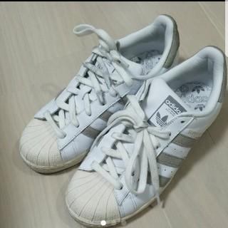 アディダス(adidas)のadidas×MOUSSY スーパースター(スニーカー)