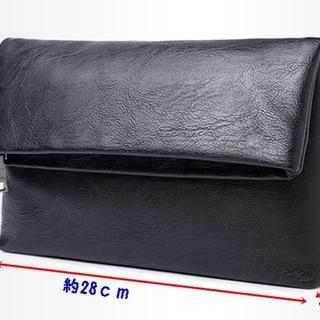 ♪大人気 送料無料♪ クラッチバッグ 二つ折り 肉厚 コンパクト セカンドバッグ(セカンドバッグ/クラッチバッグ)