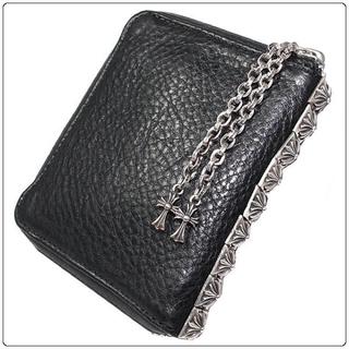 クロムハーツ(Chrome Hearts)のクロムハーツ 3サイドジップウォレット  財布(折り財布)