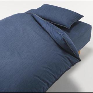 ムジルシリョウヒン(MUJI (無印良品))のベッドシーツ(シーツ/カバー)